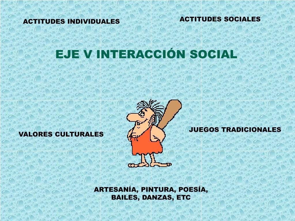 ACTITUDES SOCIALES