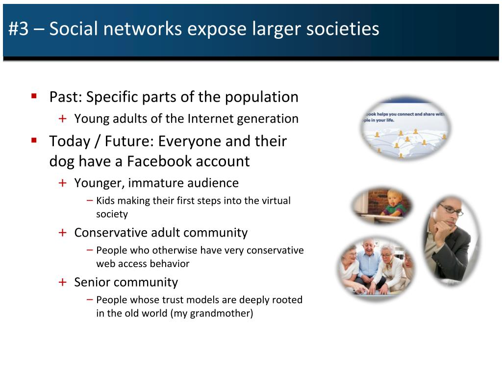 #3 – Social networks expose larger societies