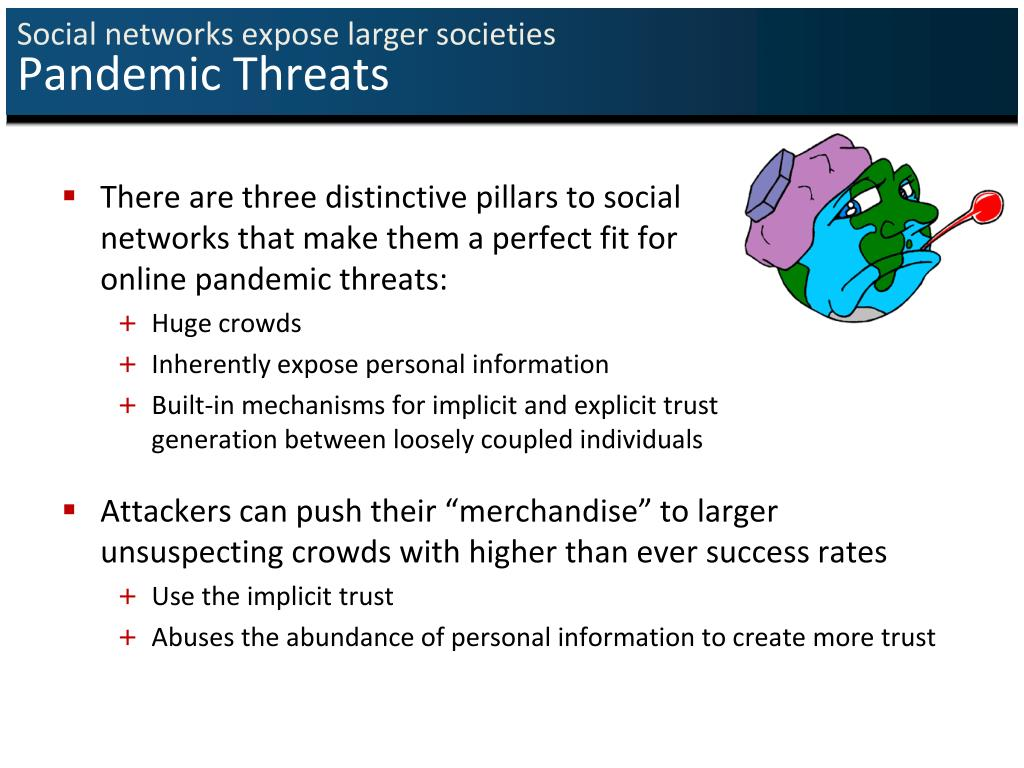 Social networks expose larger societies