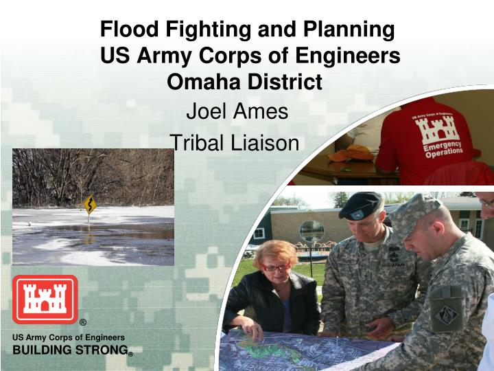 Flood fighting and planning us army corps of engineers omaha district l.jpg