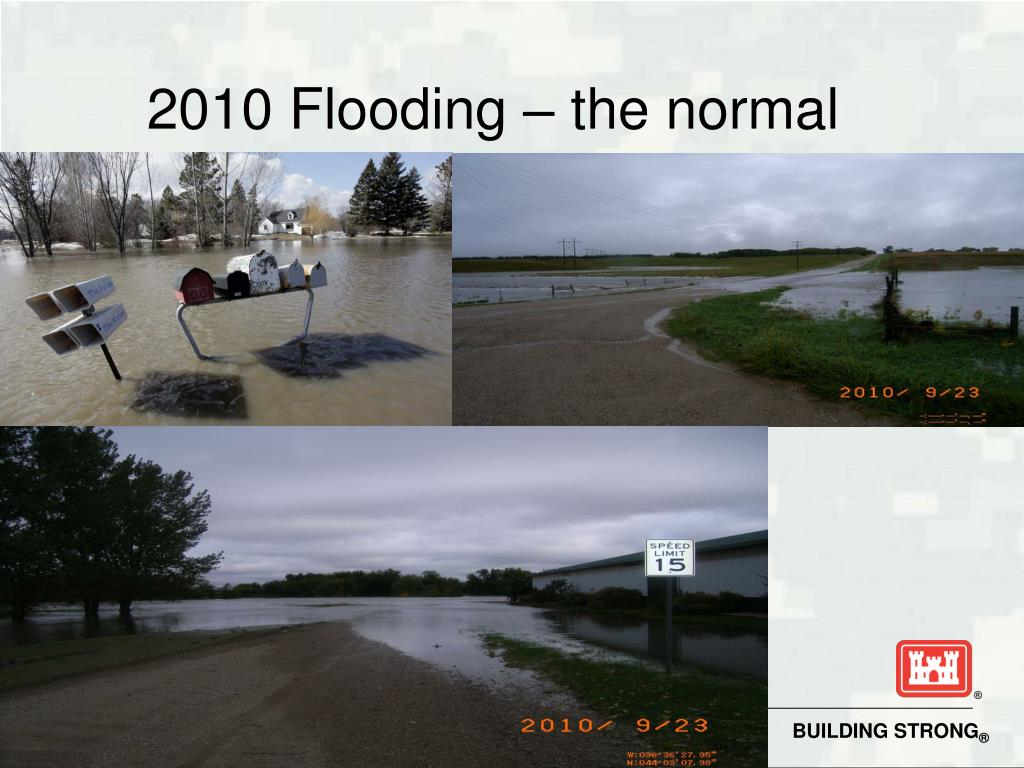 2010 Flooding – the normal