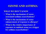ozone and asthma11