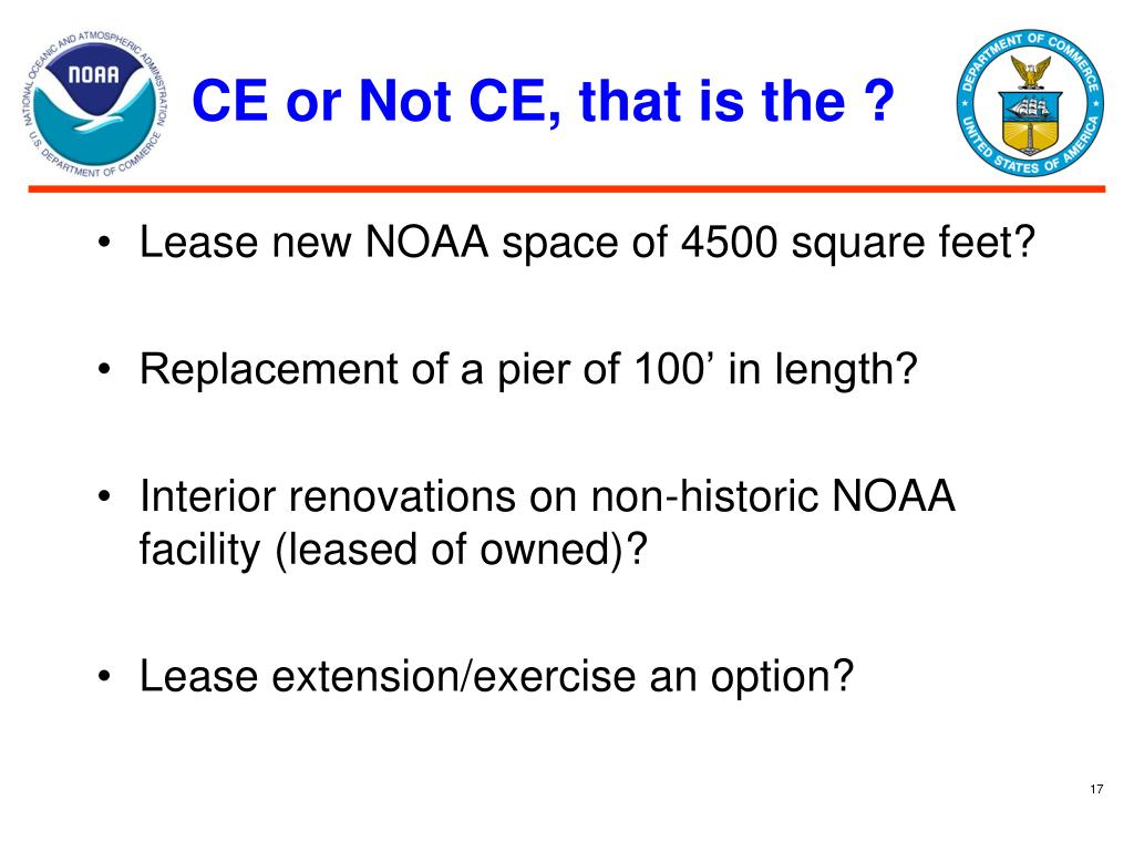 CE or Not CE, that is the ?