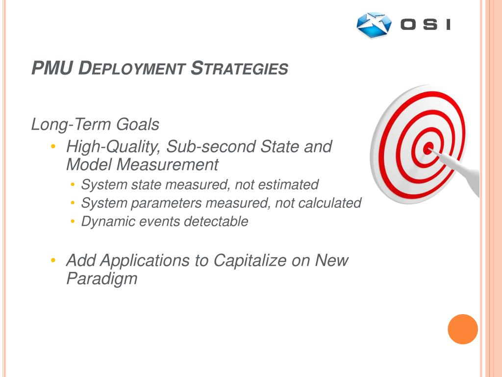 PMU Deployment Strategies
