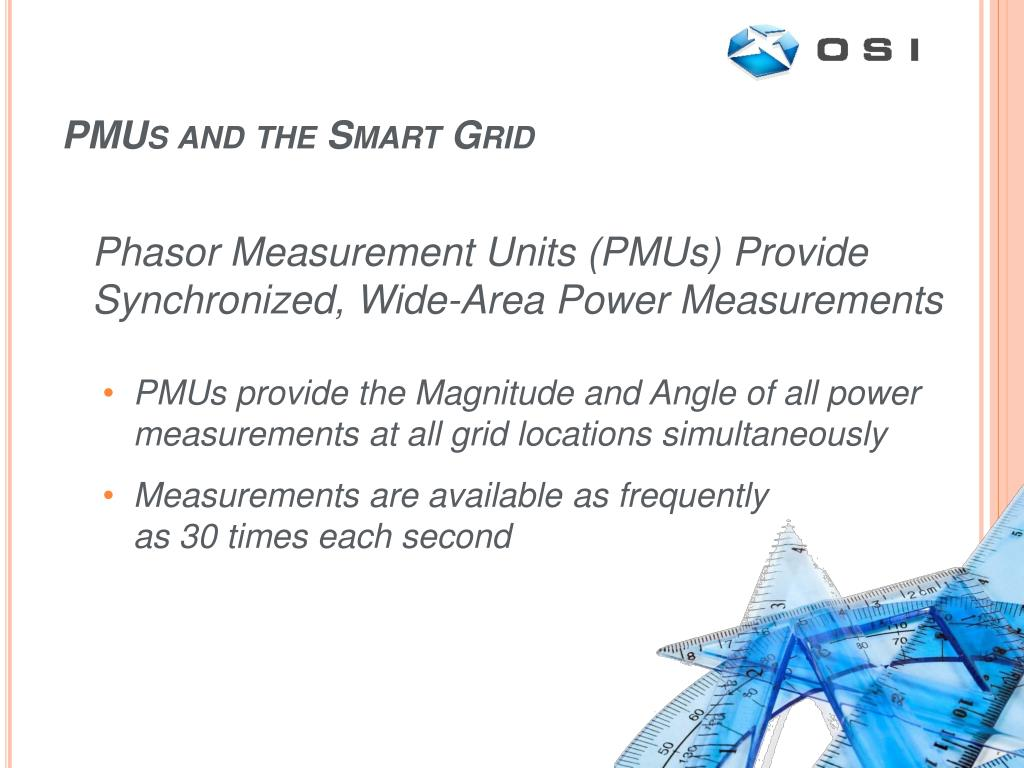 PMUs and the Smart Grid