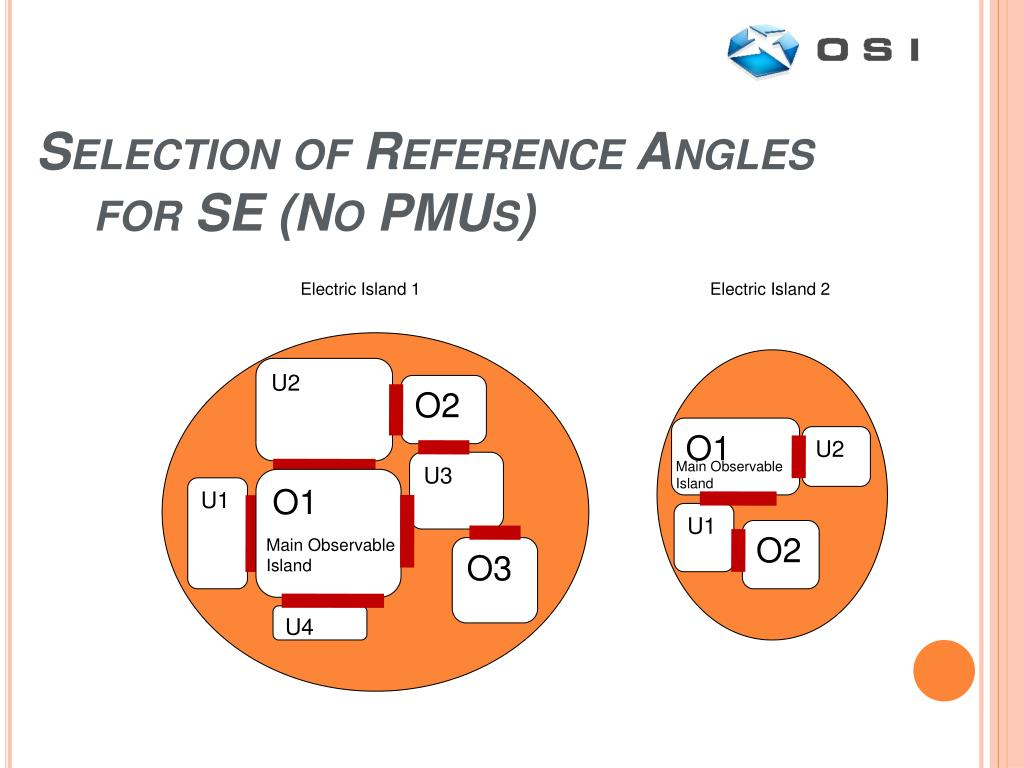 Selection of Reference Angles for SE (No PMUs)