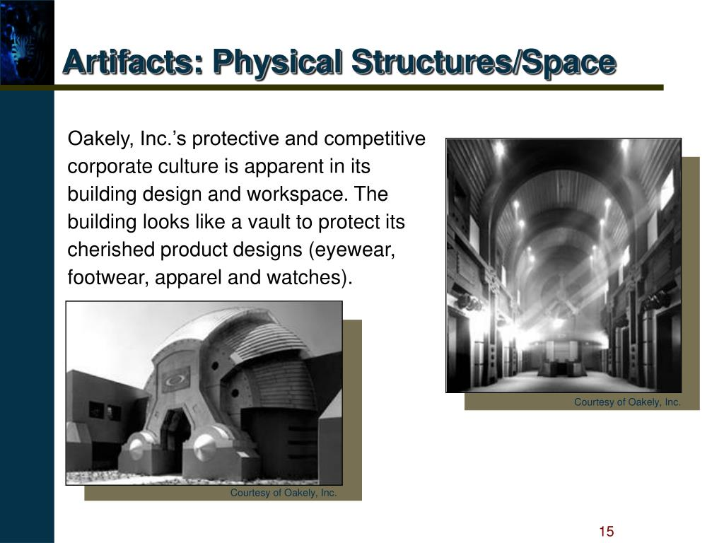 Artifacts: Physical Structures/Space