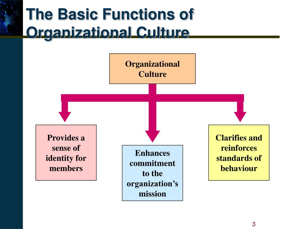 The Basic Functions of Organizational Culture