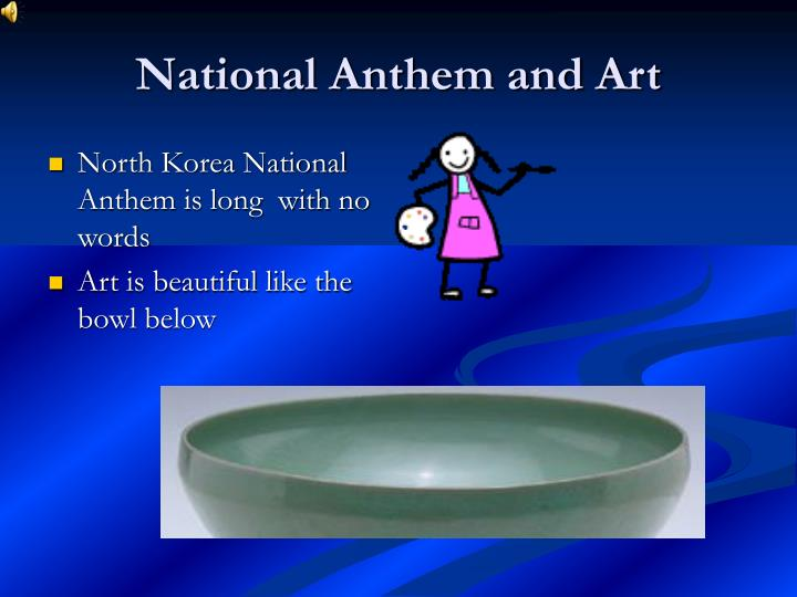 National Anthem and Art