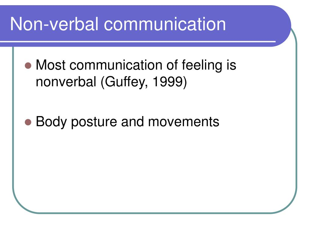 verbal and nonverbal communication ethics statement The way a person portrays themselves on the first encounter is non-verbal statement to the observer first impressions are lasting impressions there can be positive and negative impressions  the study of clothing and other objects as a means of non-verbal communication is known as artifactics or objectics.