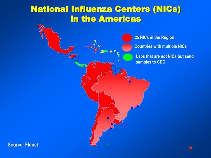 National Influenza Centers