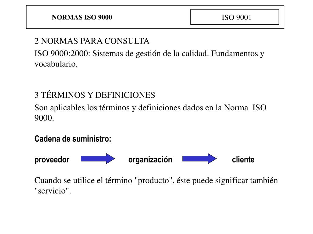NORMAS ISO 9000