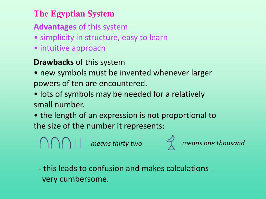 The Egyptian System