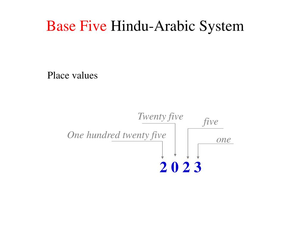 Base Five