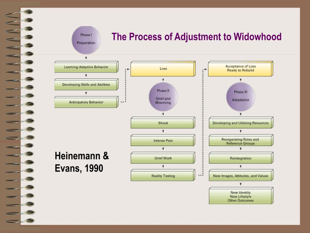 The Process of Adjustment to Widowhood