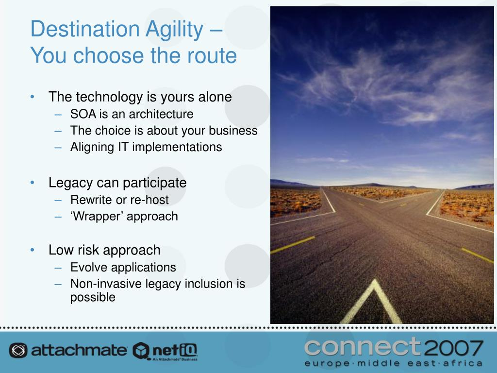 Destination Agility –