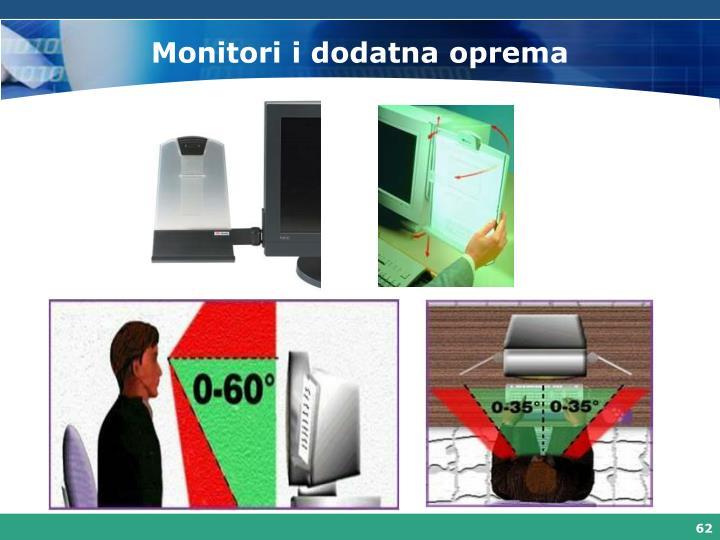 Monitori i dodatna oprema