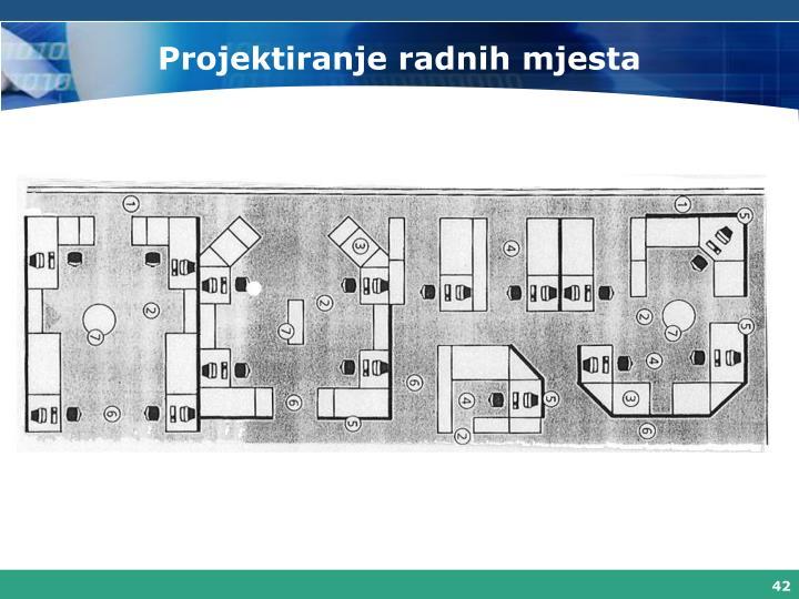 Projektiranje radnih mjesta