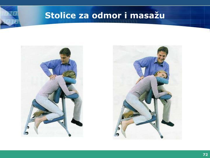 Stolice za odmor i masažu