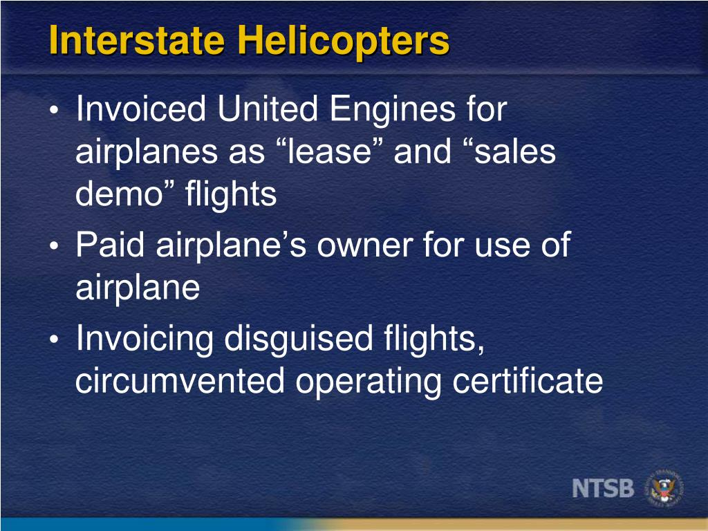Interstate Helicopters