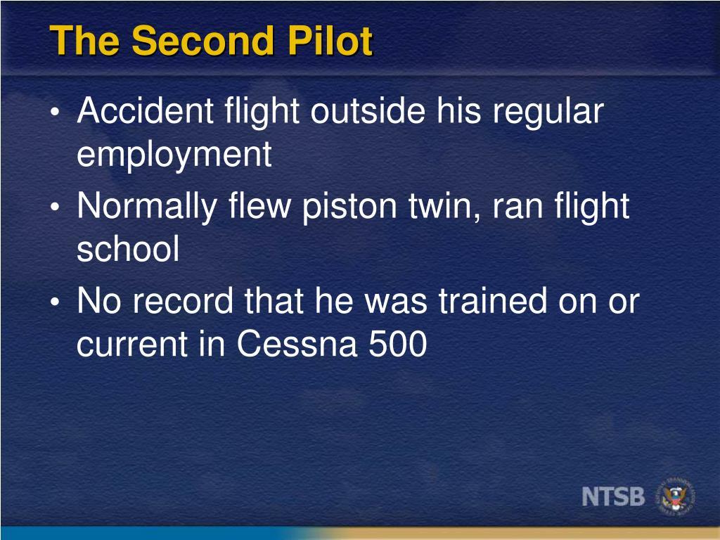 The Second Pilot
