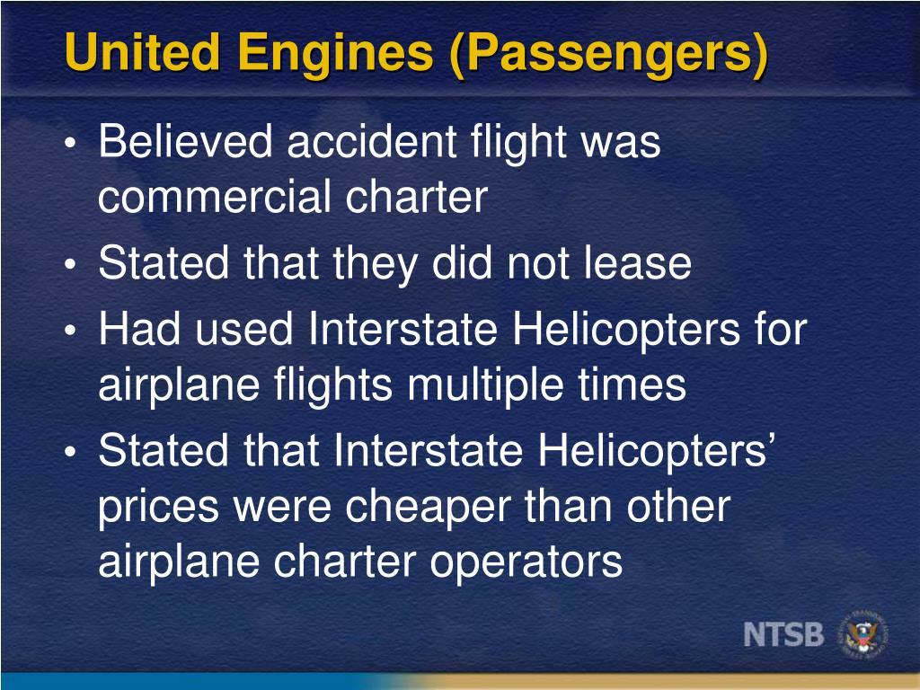 United Engines (Passengers)