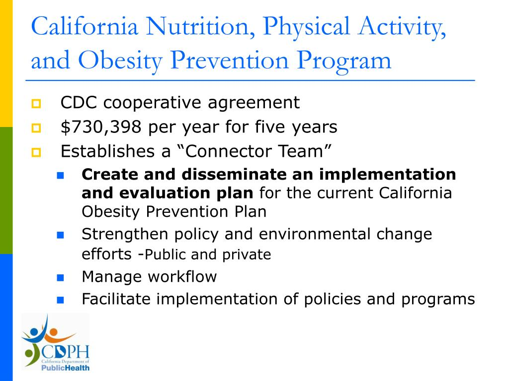 California Nutrition, Physical Activity, and Obesity Prevention Program