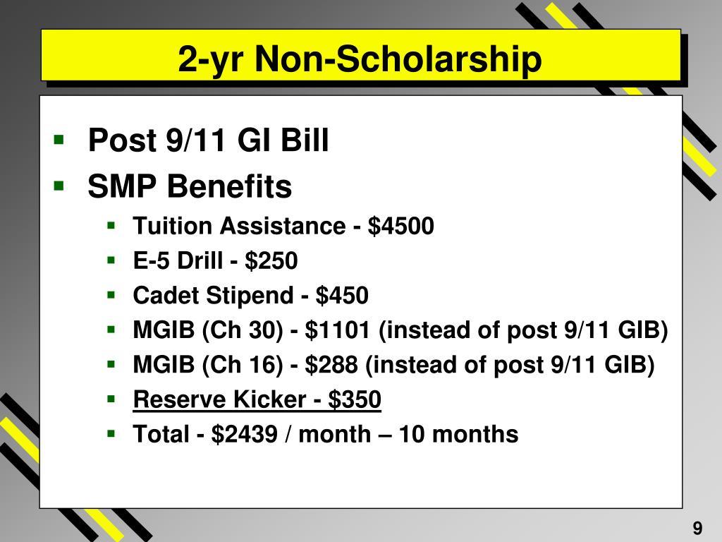 2-yr Non-Scholarship