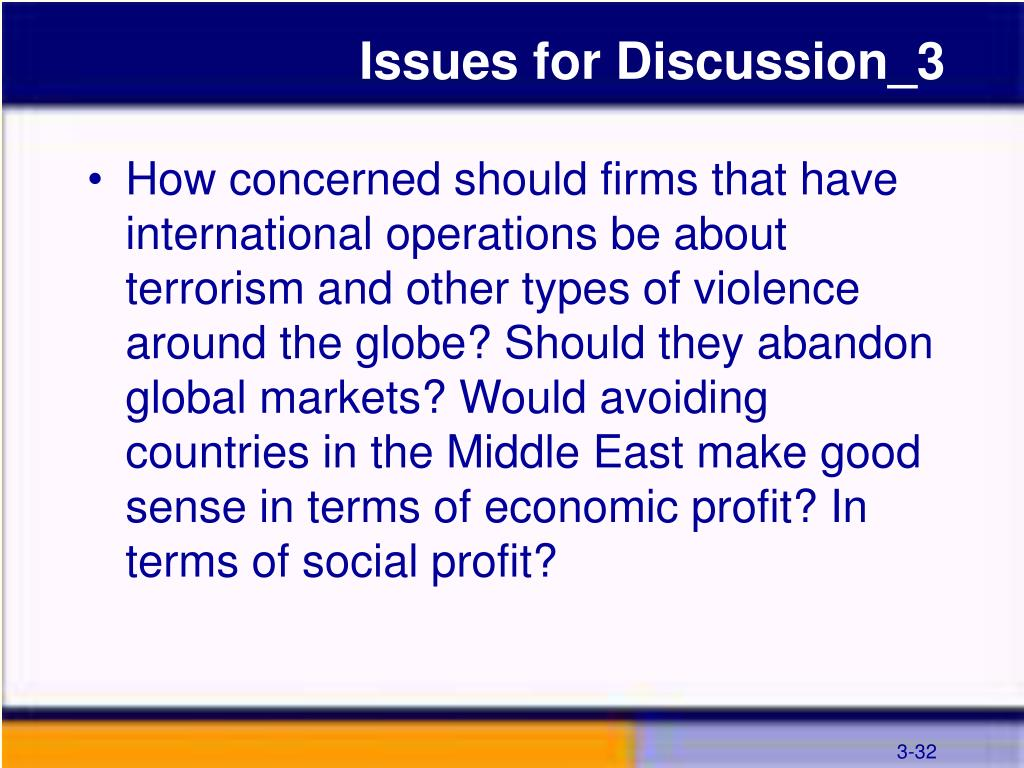 Issues for Discussion_3