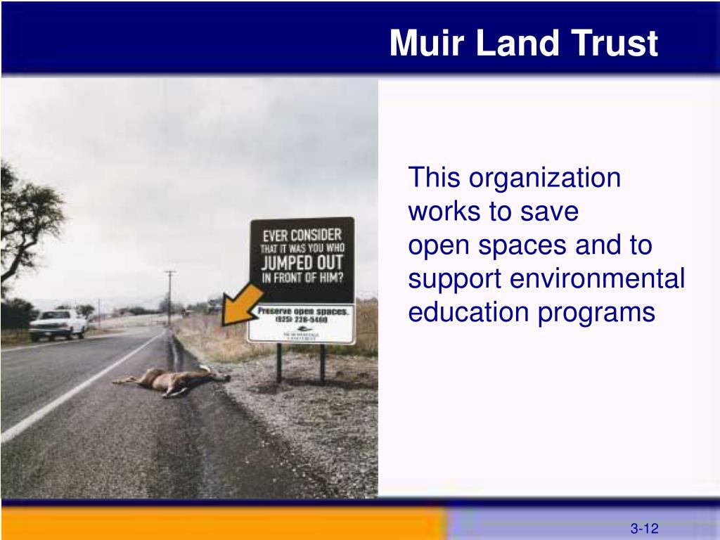 Muir Land Trust