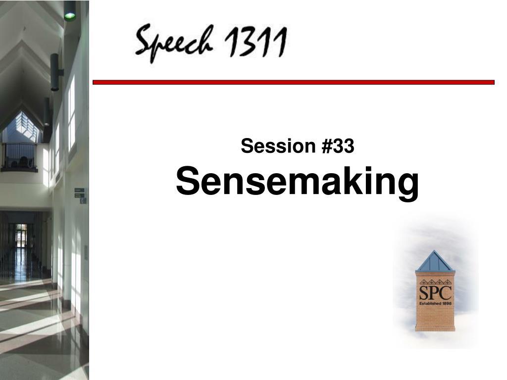 Session #33