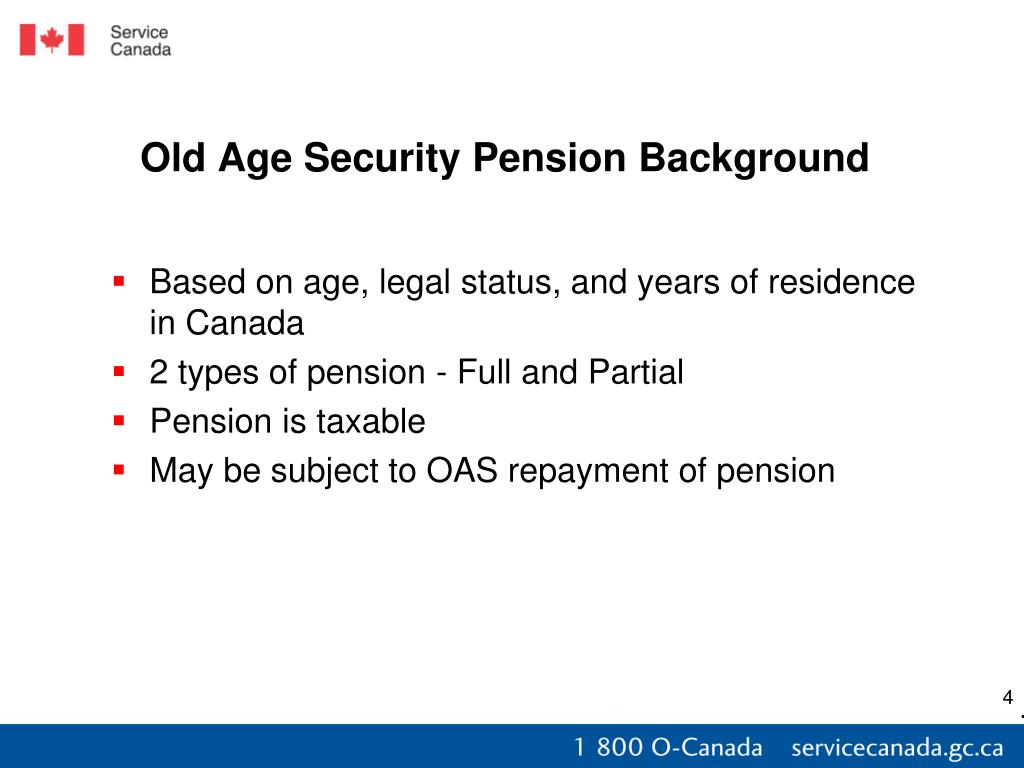 Canada Pension Plan Old Age Security Application 58