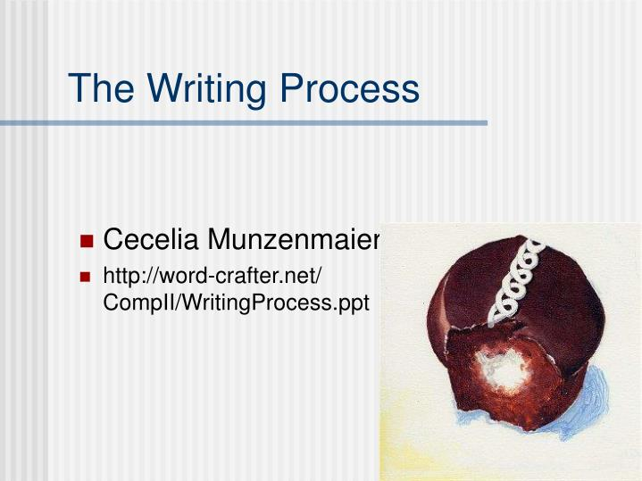 research paper writing process ppt