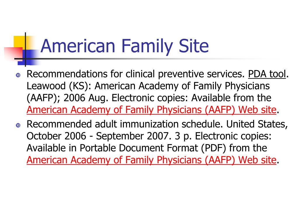 American Family Site