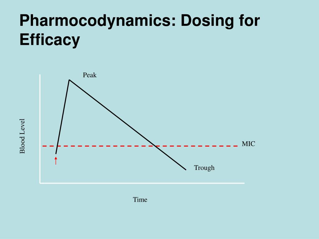 Pharmocodynamics: Dosing for Efficacy