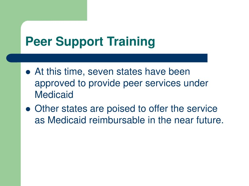 Peer Support Training
