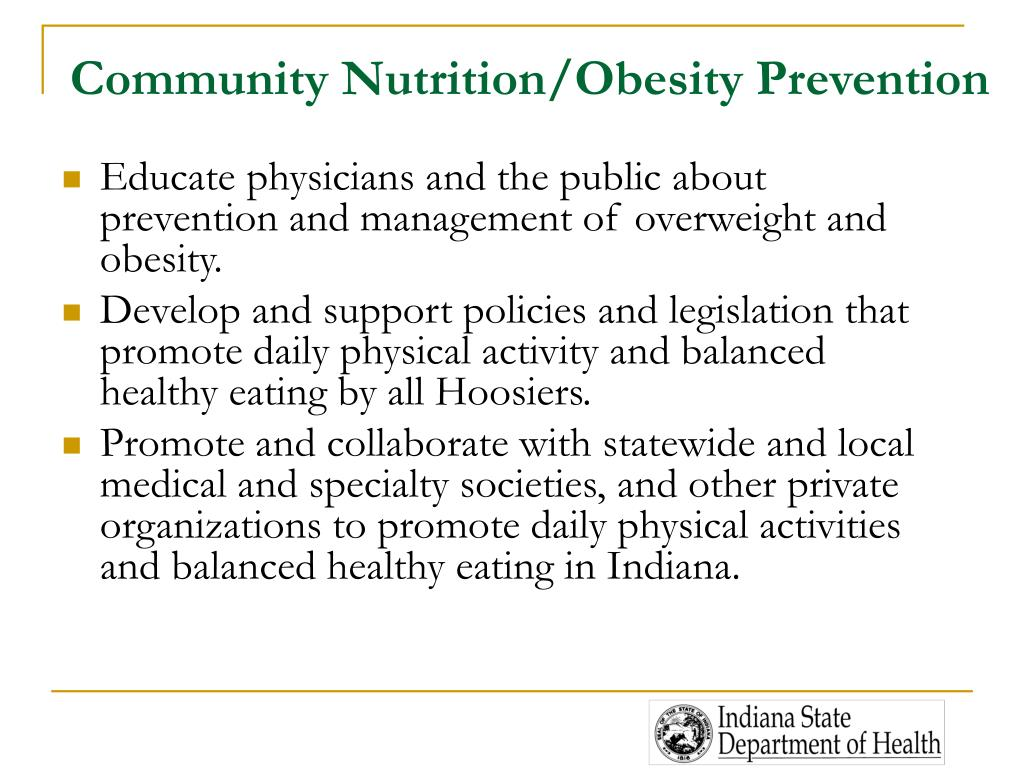 Community Nutrition/Obesity Prevention