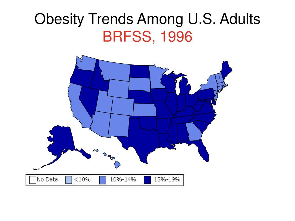 Obesity Trends Among U.S. Adults