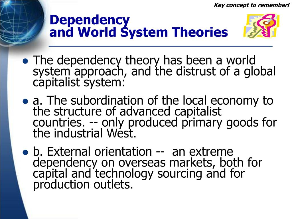 dependency theory vs world system theory Immanuel wallerstein and world systems theory - vietnam modernization, development theory, and its critics is the property of its rightful owner.