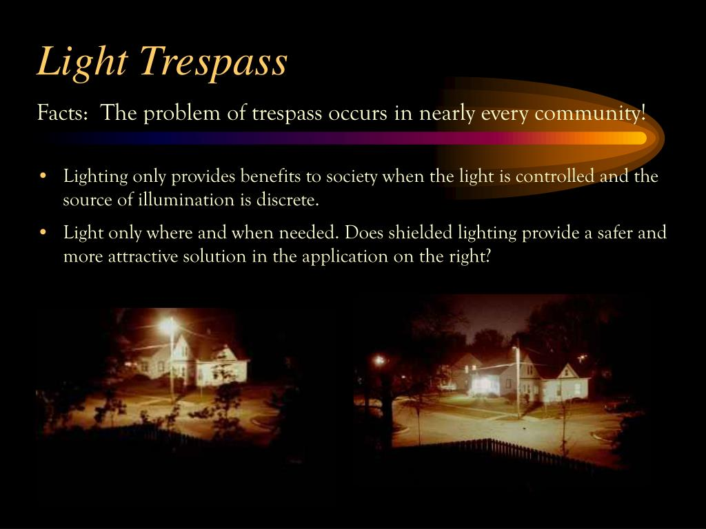 Light Trespass