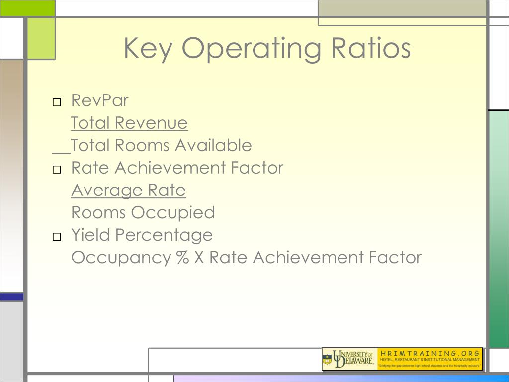 Ppt Hospitality Operating Ratios Powerpoint Presentation
