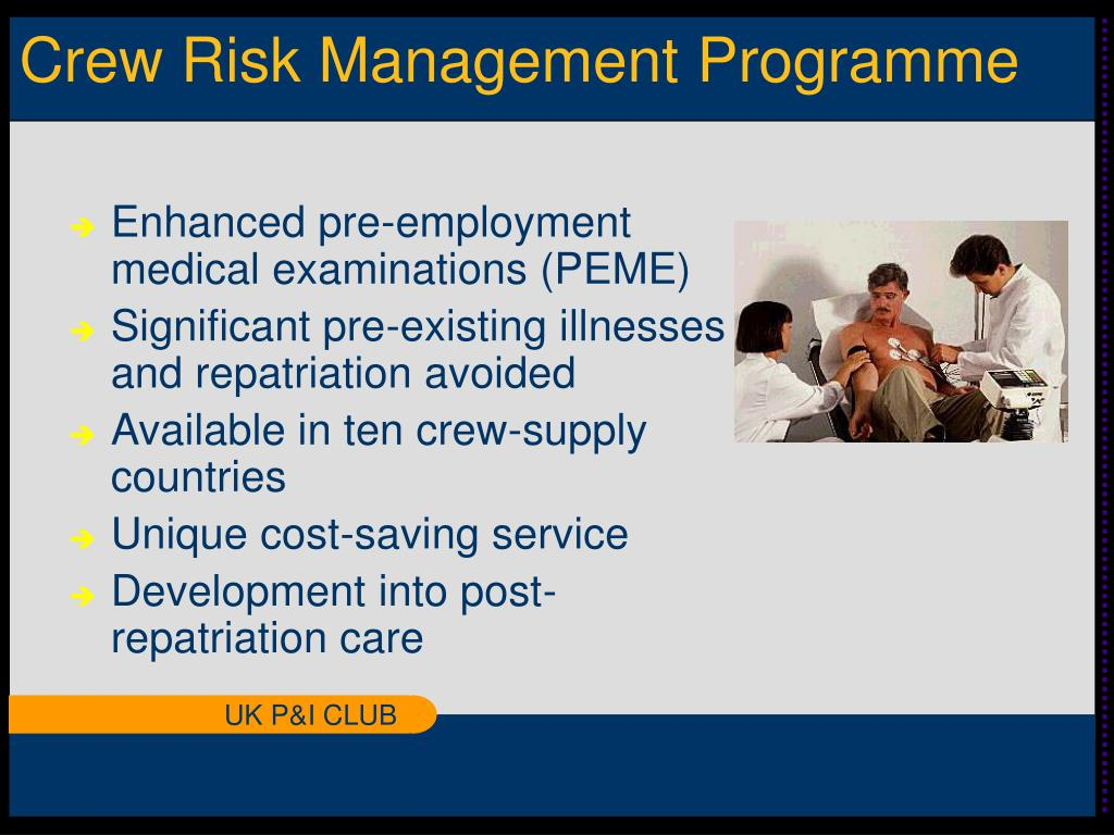 Crew Risk Management Programme