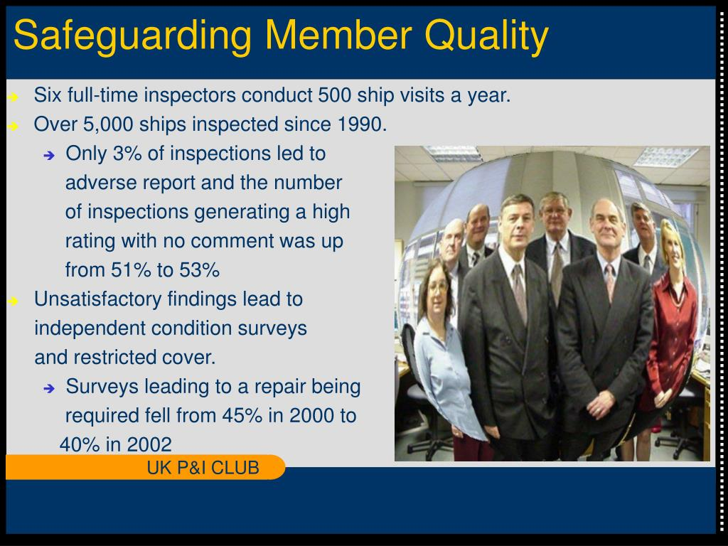 Safeguarding Member Quality