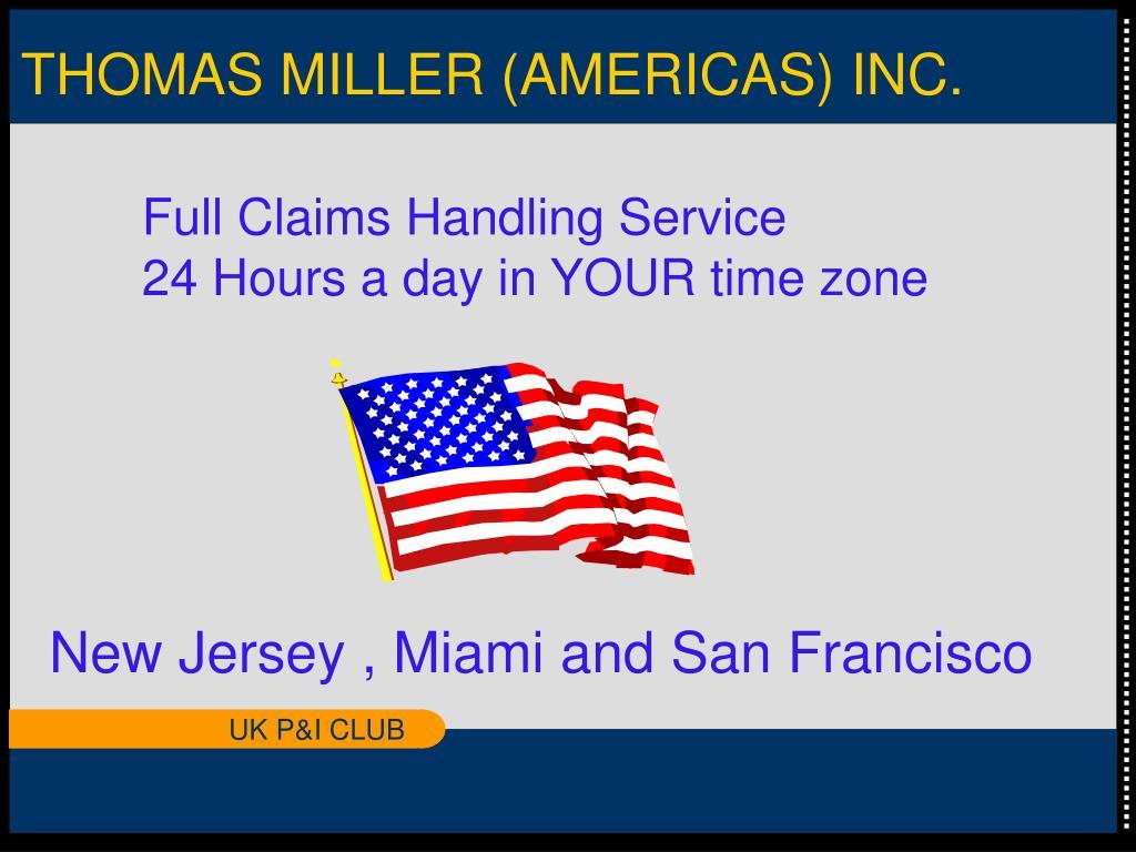THOMAS MILLER (AMERICAS) INC.
