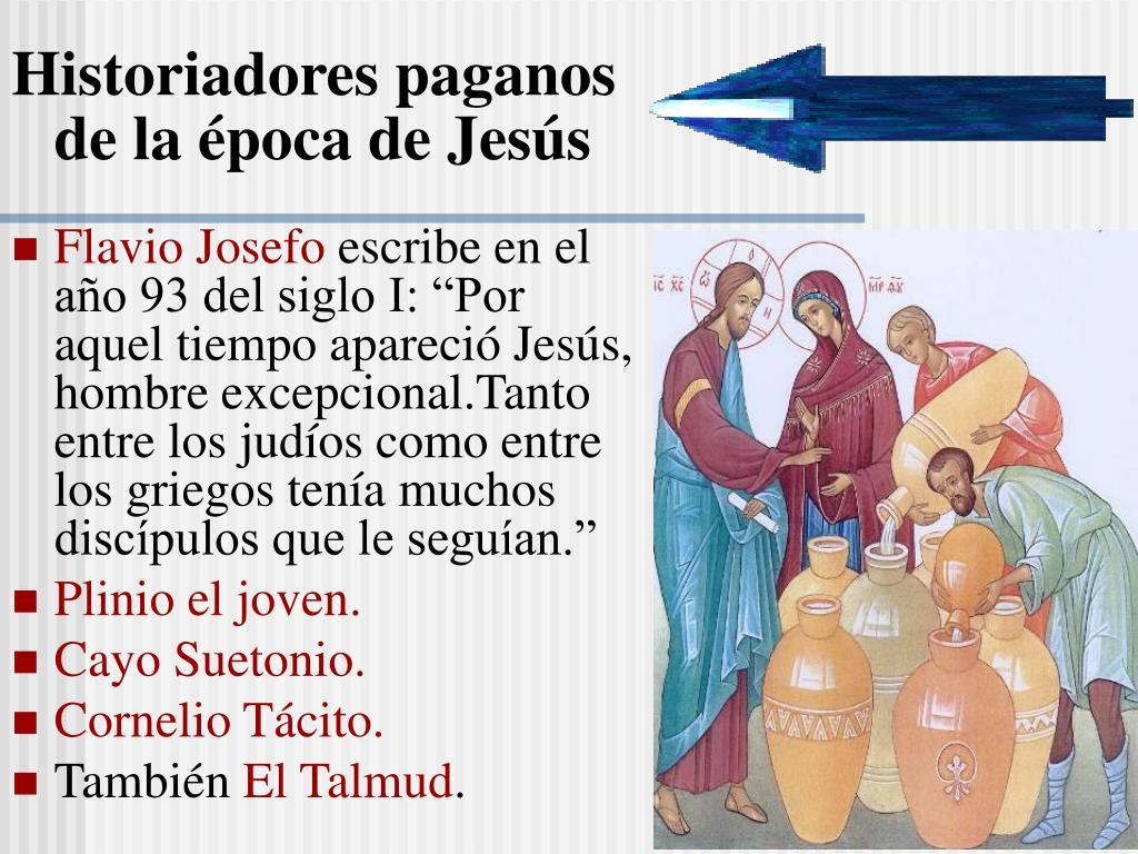 Historiadores paganos de la época de Jesús