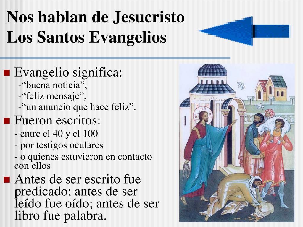 Nos hablan de Jesucristo