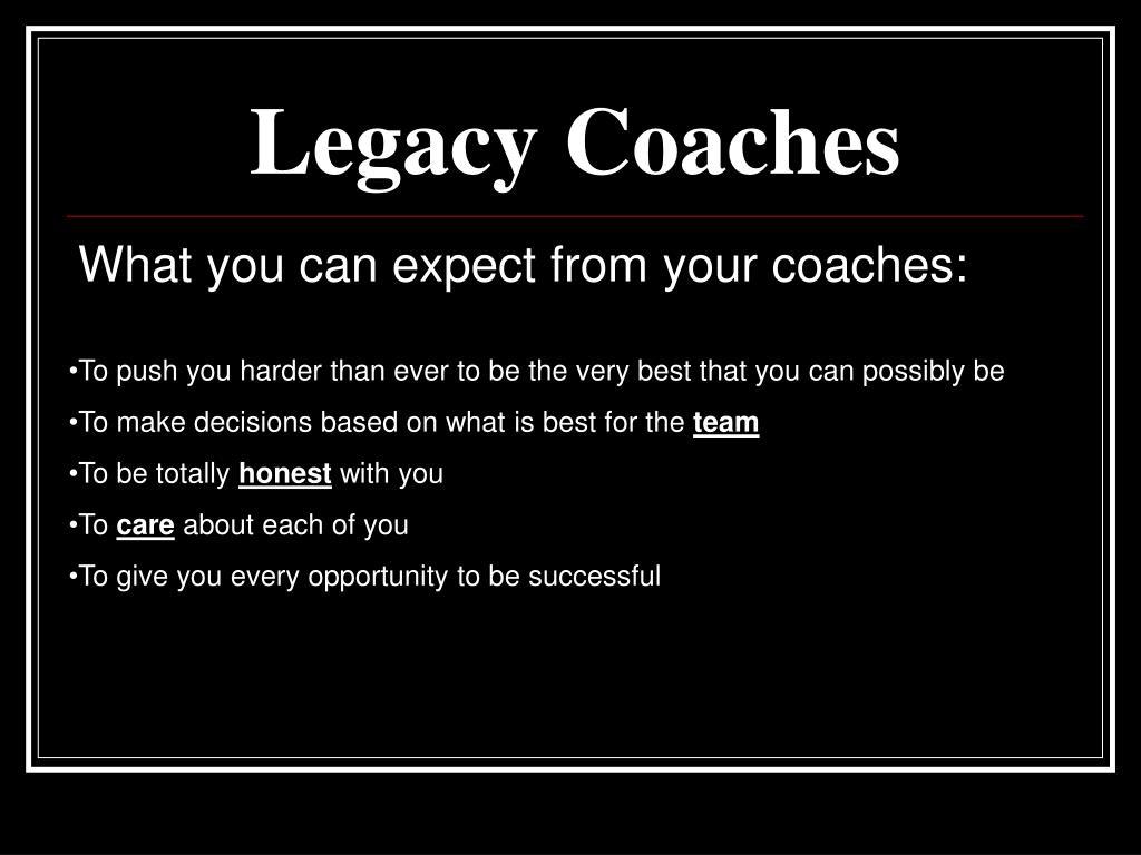 Legacy Coaches