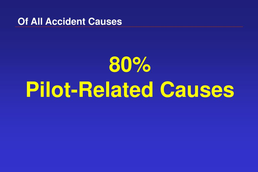 Of All Accident Causes