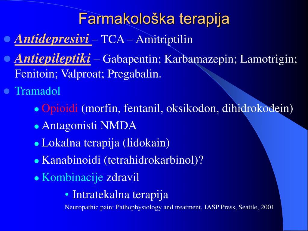 Farmakološka terapija