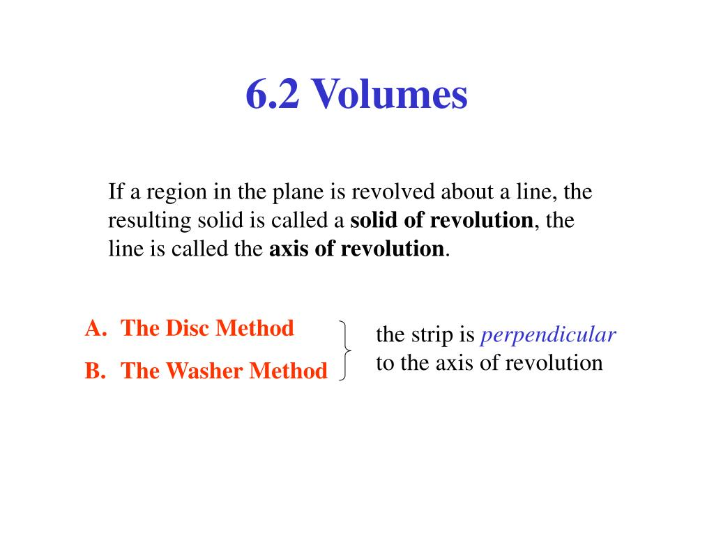 6.2 Volumes